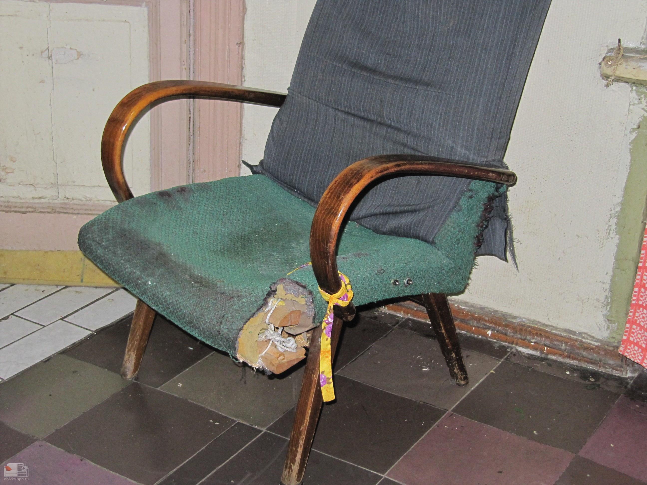 Ремонт своими руками старинного кресла 52